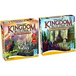 Queen Games 0521 - Kingdom Builder Bundle - Spiel des Jahres 2012 und Erweiterung 1 Nomads Kingdom Builder