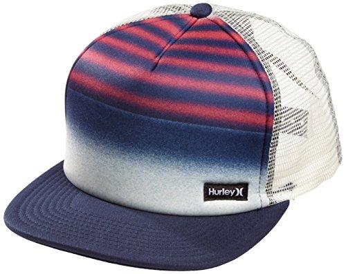 Hurley - Cappellino con visiera Bambino, Blu (Midnight Navy), Taglia unica