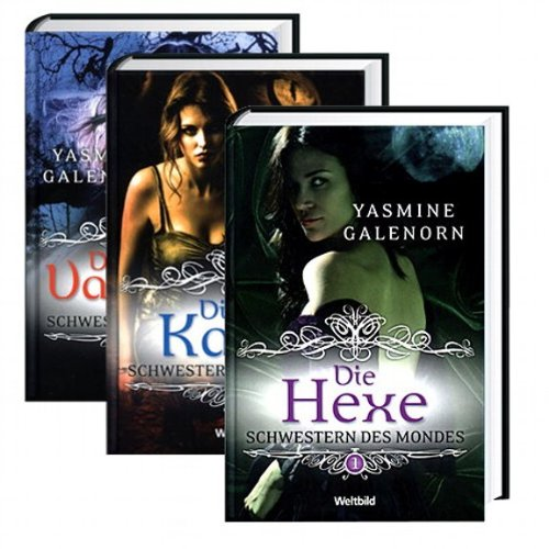 Schwestern des Mondes 1-3: Die Hexe, Die Katze, Die Vampirin (Vampirin Hexe)