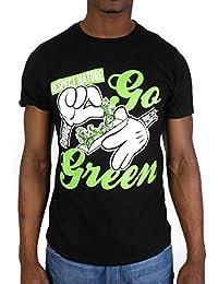 Tshirt Monsterpiece Respect Nature Noir
