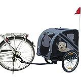 Karlie Flamingo 31605 - Doggy Liner Economy - 125 x 95 x 72 cm, grau / schwarz