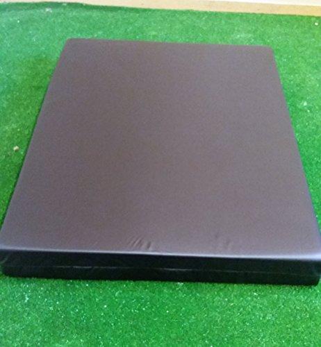 KosiPad Deluxe Gym Landing Crash Mat, Play, Nursery, Training Safe, Soft (Black, Extra Large)