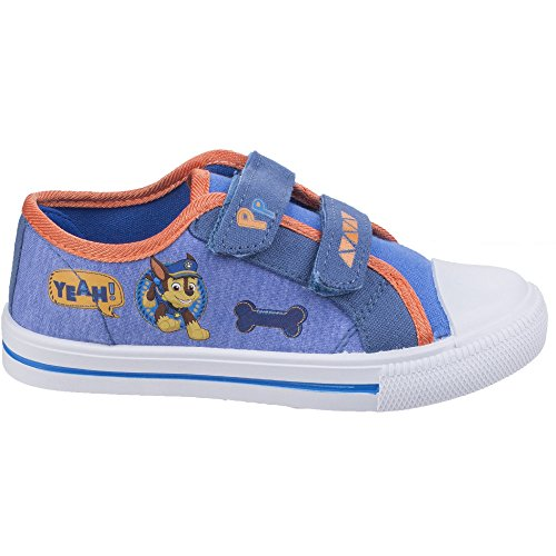 Leomil Boys & Girls Chase Lightweight Canvas Fashion Trainers Shoes