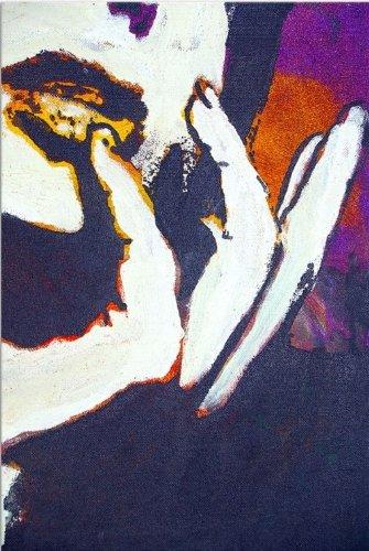 Startonight Toile murale femmes main, 120 cm