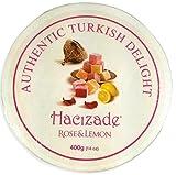 Turkish Delight Rose & Lemon 400gram Wooden Gift Box...