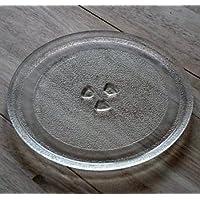 27 cm Universal Mikrowelle Ersatz Drehteller Glasteller Ersatzteil Microwelle Ersatzteller mit 27cm Durchmesser Teller Mikrowellenteller Microwellenteller