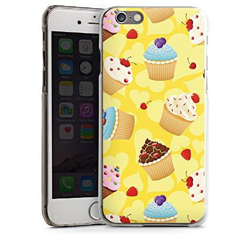 Apple iPhone 5s Housse étui coque protection Muffin Cake Gâteau CasDur transparent