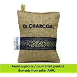 Dr. CHARCOAL Non Electric Air Purifier. Deodorizer and Dehumidifier for Cars, Bathrooms and Kitchen. 200 Grams. (Classic Khaki)