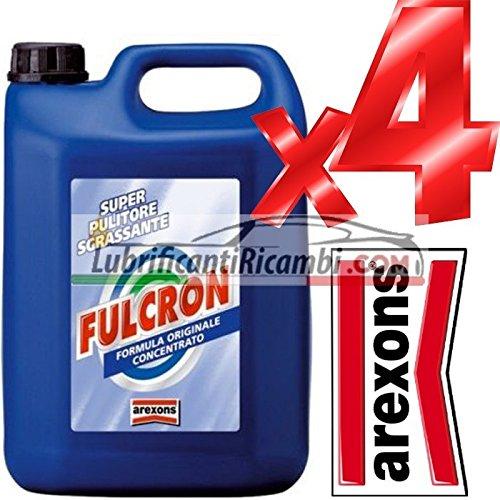 AREXONS - FULCRON PULITORE UNIVERSALE / AREXONS SGRASSATORE CONCENTRATO 4 CONF. 20 LITRI