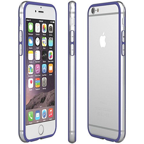 Apple iPhone 5C Hülle, EAZY CASE Bumper - Premium Handyhülle aus Silikon - Flexible Schutzhülle als Cover in Grün Blau