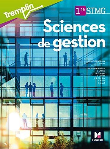 Tremplin - SCIENCES DE GESTION - 1re BAC STMG by Chantal Bricard (2016-05-04)