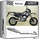 Arrow Auspuff Komplett Race Thunder Road Titan Suzuki DR-Z 400 SM 2006 06 72005tt + 72070pd