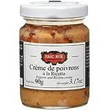 ERIC BUR Crème de Poivrons à la Ricotta 90 g - Lot de 2