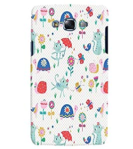 Citydreamz Abstract Pattern Hard Polycarbonate Designer Back Case Cover For Samsung Galaxy J7