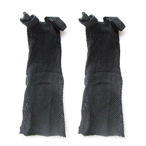 Vococal® 1 Paire En Nylon Extensible Noir Cheveux Perruque Mesh Net Wig Cap