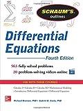 Schaum's Outline of Differential Equations (Schaum's Outlines)