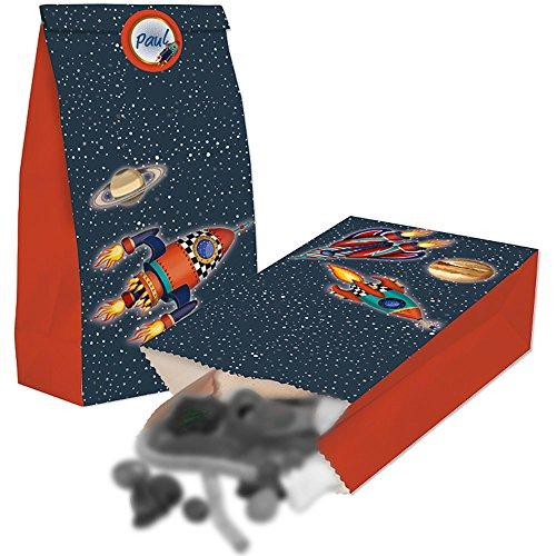 Lutz Mauder 10013 TapirElla Partytüten aus Papier - Raketen-luftballons