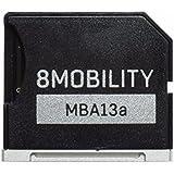 "Micro SD Storage Speicherung Aluminium Adapter für MacBook Air 13"" 8MOBILITY iSlice MicroSD Adapter (iRepair Mac)"