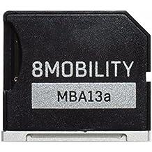 "8MOBILITY iSlice Adaptador de almacenamiento Micro SD para MacBook Air 13 ""A1369 y A1466 (Plata)"