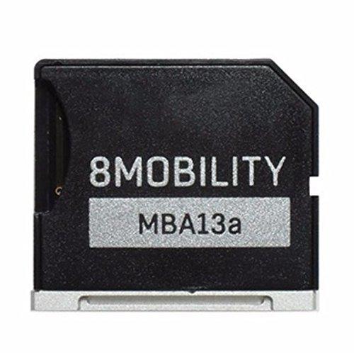 8Mobility iSlice Alluminio Micro SD Adattatore di per MacBook Air 13' A1369 e A1466, Color Argento