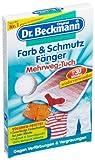 Dr. Beckmann Farb & Schmutz Fänger Mehrweg-Tuch, bis zu 30 Wäschen, 2er Pack (2 x 1 Stück)