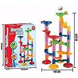 Kid Fun Novelty Toy New Year Gift DIY Marble Run Coaster Maze Toy - Hanmun DIY Marble Race Children Funny Educational Toys