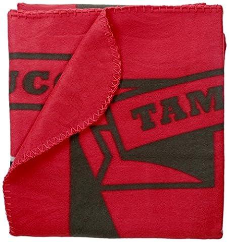 NFL Tampa Bay Buccaneers Marque Printed Fleece Throw, 50