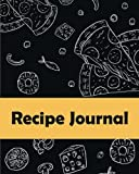 Recipe Journal: (Recipe Journal Vol. A81) Glossy Cover, (Size 8