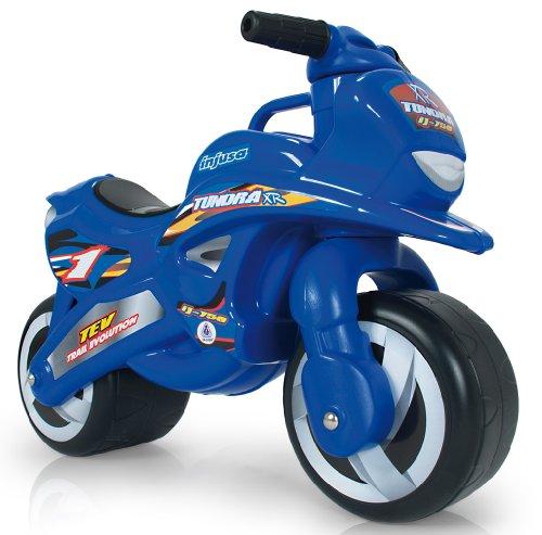 Injusa - Moto correpasillos Tundra para bebés, azul  (195/000)