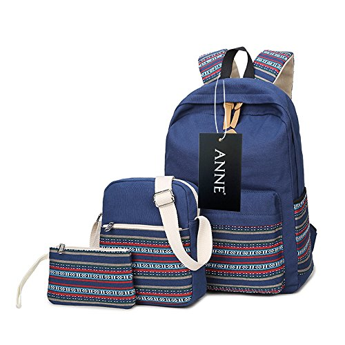 Anne - Borsa a Zainetto donna Dark Blue