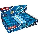 Tipp-Ex Micro Tape Twist - Caja de 10 unidades, cinta correctora 8 m x 5 mm, color azul