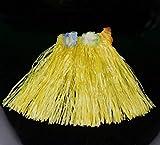 Funcart 40cm YELLOW Colored Grass Hula S...