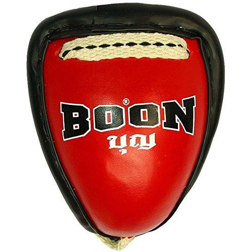 BOON Thai Cup, Metall, schwarz, Tiefschutz, Groinguard, Suspensorium, Muay Thai Größe XL