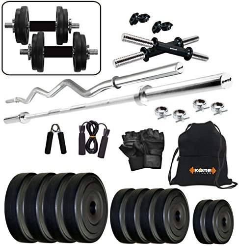 Kore K-PVC-20KGCOMBO2 Home Gym and Fitness Kit