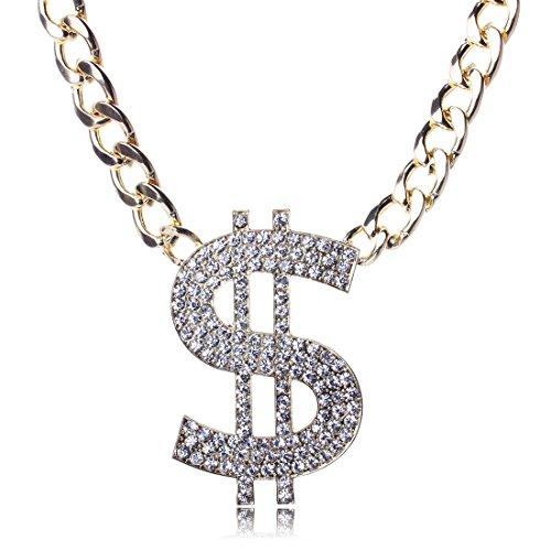 Übertriebene Art und Weise Straße tanzen Diamant-Halskette (Ein Gurt Brautjungfer Kleider)