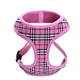 Unihubys Small Dog Harness Cat Harness Soft Mesh Dog Harness No Pull Comfort