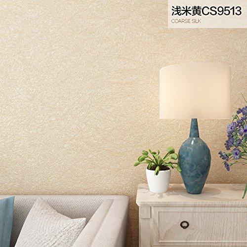 Beige-moderne-tapete (nicht aus tapete tapete _ dick schlicht aus tapete schlafzimmer wohnraum modern seide reine 3d - tv hintergrund mauer,CS9513 silk light beige)