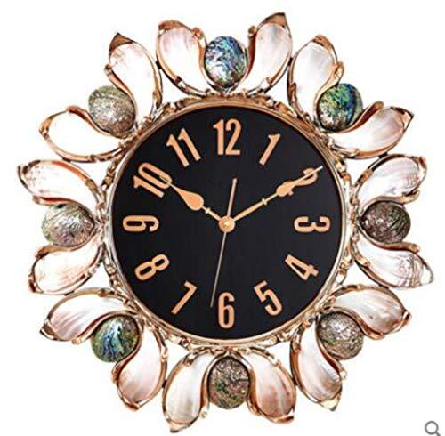 Wanduhr Wall Clocks 80 cm Moderne 3D Große Retro Schwarz Eisen Kunst Hohl Wanduhr Römischen Ziffern Wohnkultur