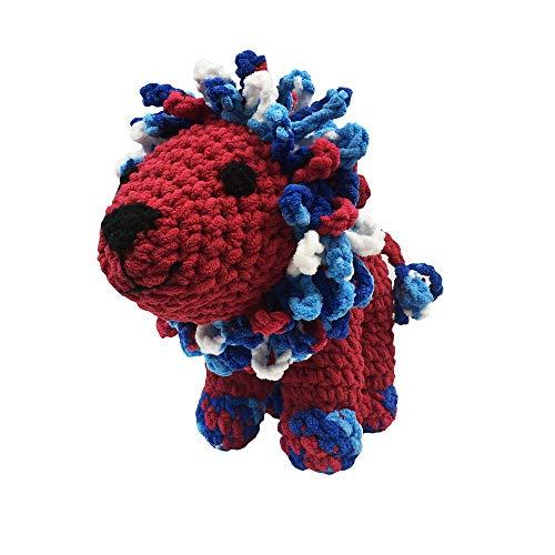Creative World of Crafts Knitty Critters-Larry Der Löwe (eine komplette Knitty Critters Crochet Kit) (Larry Der Löwe)