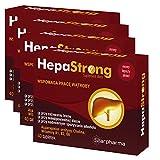 4x HepaStrong = 160 Tabletten Vegan! - Leberschutz - Leberunterstützung - Entgiftung der Leber - Premium Apotheken Qualität