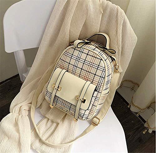 Leder Gurt Zurück (Bae aus weichem Leder zurück Gurt Zwei-Wege-Reise kleinen Rucksack Umhängetasche Frauen kleine Tasche Mode)