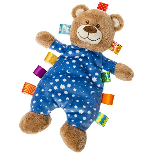 Weiß Taggie (Mary Meyer 40191 Taggies Starry Night Teddy Bär Lovey Plüschtiere)