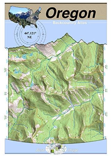 44°121° NE - Madras, Oregon Backcountry Atlas (Topo) (English Edition)