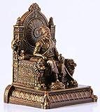 Rachana creation Chhatrapati Shivaji Maharaj Statue with Attractive Printed Box for Home Decor/Office