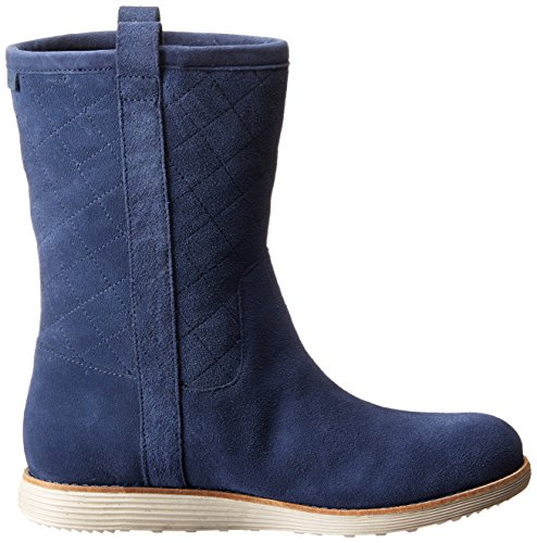 Cole Haan Roper Grand-Boot Blazer Blue Suede