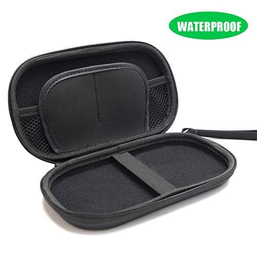 X-DRAGON Powerbank Case (Innengröße:18x9x2.5cm) Wasserdichte Reisetasche Tasche Externer Akku Schutzhülle Reise Hülle Taschefür for Powerbank, USB-Stick, SD/TF-Karten, USB Kabel, Smartphone