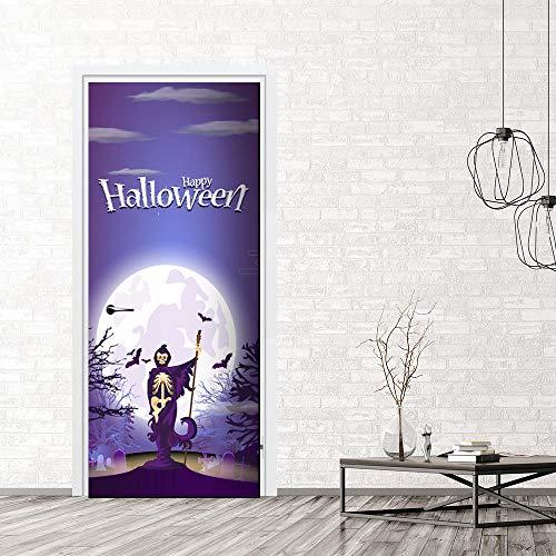 Wasser Wandaufkleber, Halloween Skorpion Fledermaus Aufkleber Simulation Tür Aufkleber können das Schlafzimmer Wohnzimmer bewegen