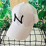 woyaochudan Kinder Mesh Baseball Cap Frühling und Sommer atmungsaktive Travel Caps Visier 3