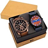 DAZZLE DL-2CMB-BLK-BRW Analog Watches Fo...