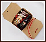 Baileys Original Irish Cream Likör 50ml kleines Geschenk mit DreiMeister Edel Schokoladen und Whisky Fudge in Geschenkverpackung, kostenloser Versand